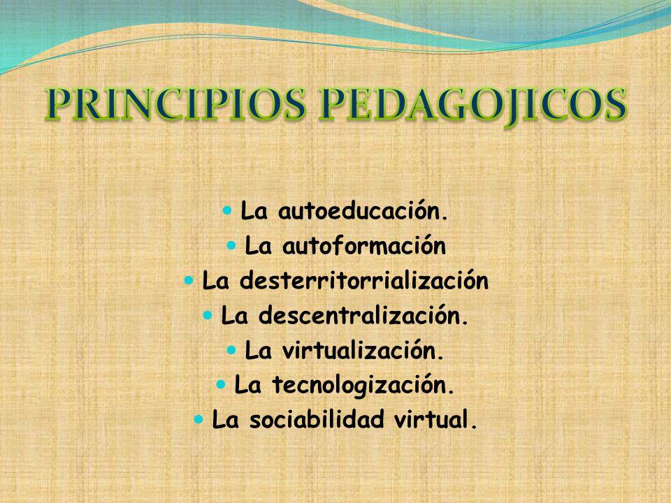 PRINCIPIOS PEDAGOJICOS