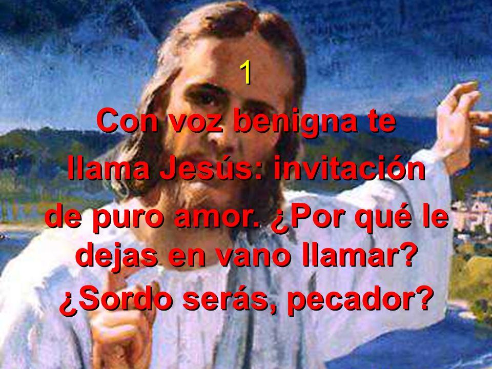 llama Jesús: invitación