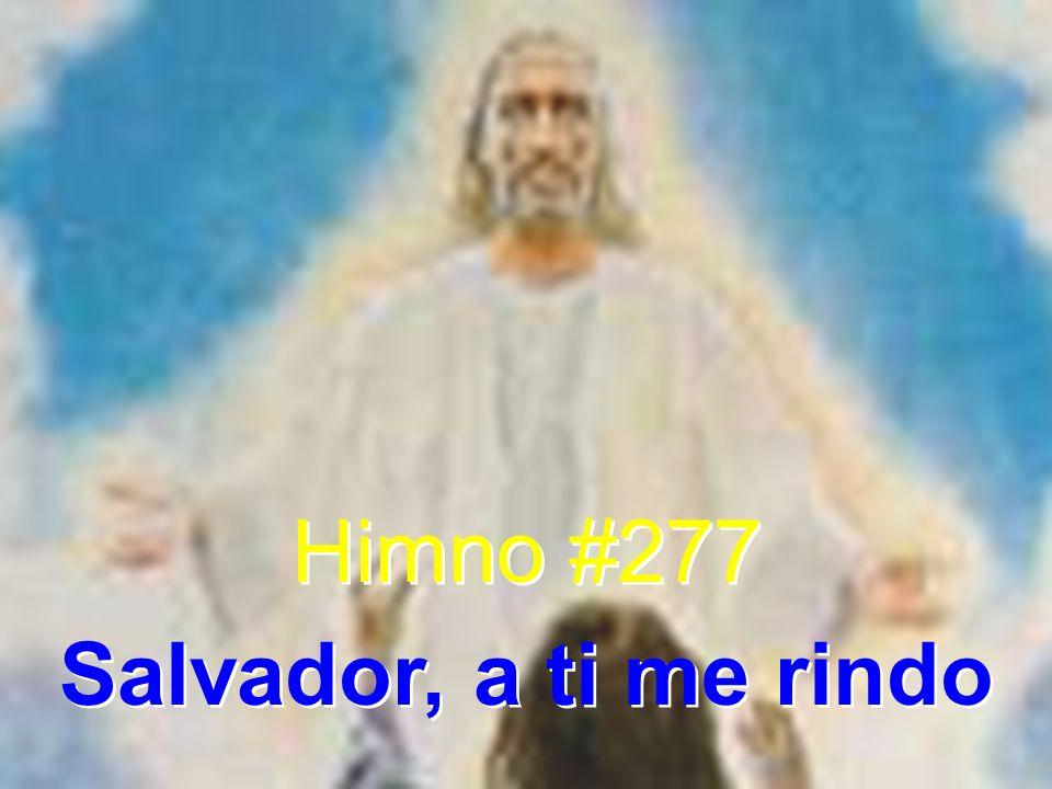 Himno #277 Salvador, a ti me rindo