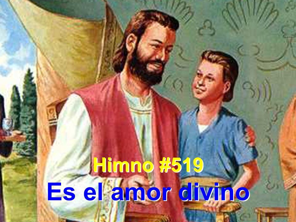 Himno #519 Es el amor divino