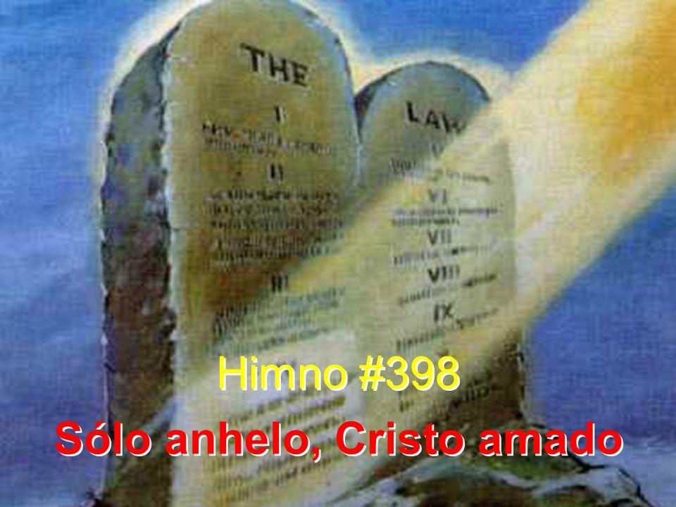 Sólo anhelo, Cristo amado