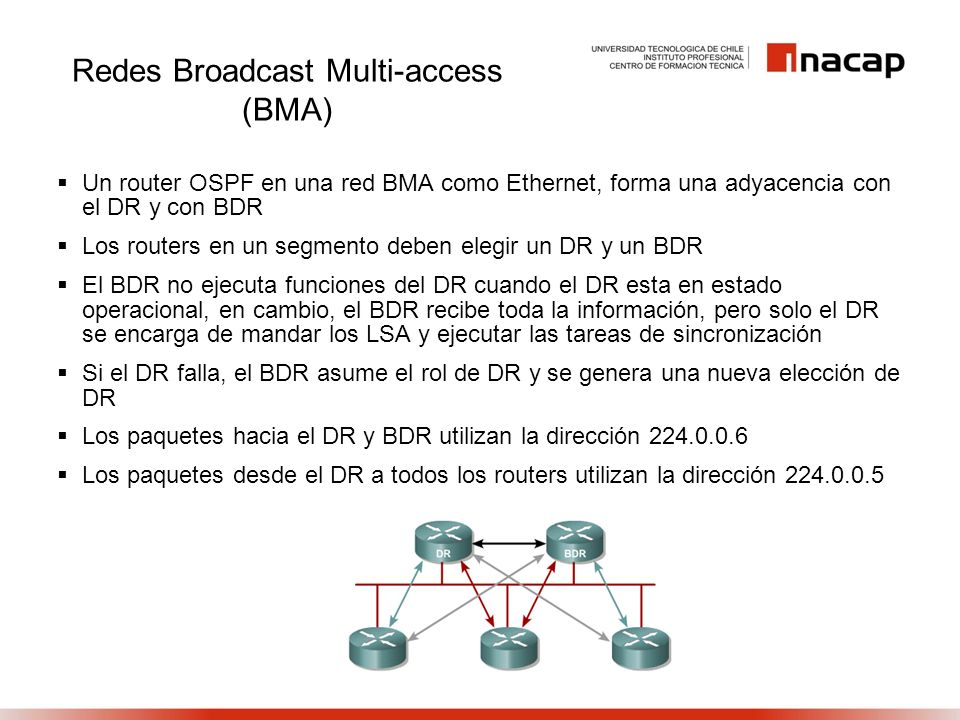 Redes Broadcast Multi-access (BMA)