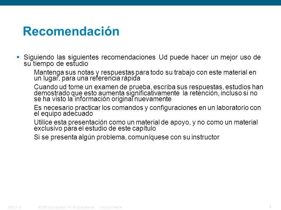 Recomendación Siguiendo las siguientes recomendaciones Ud puede hacer un mejor uso de su tiempo de estudio.