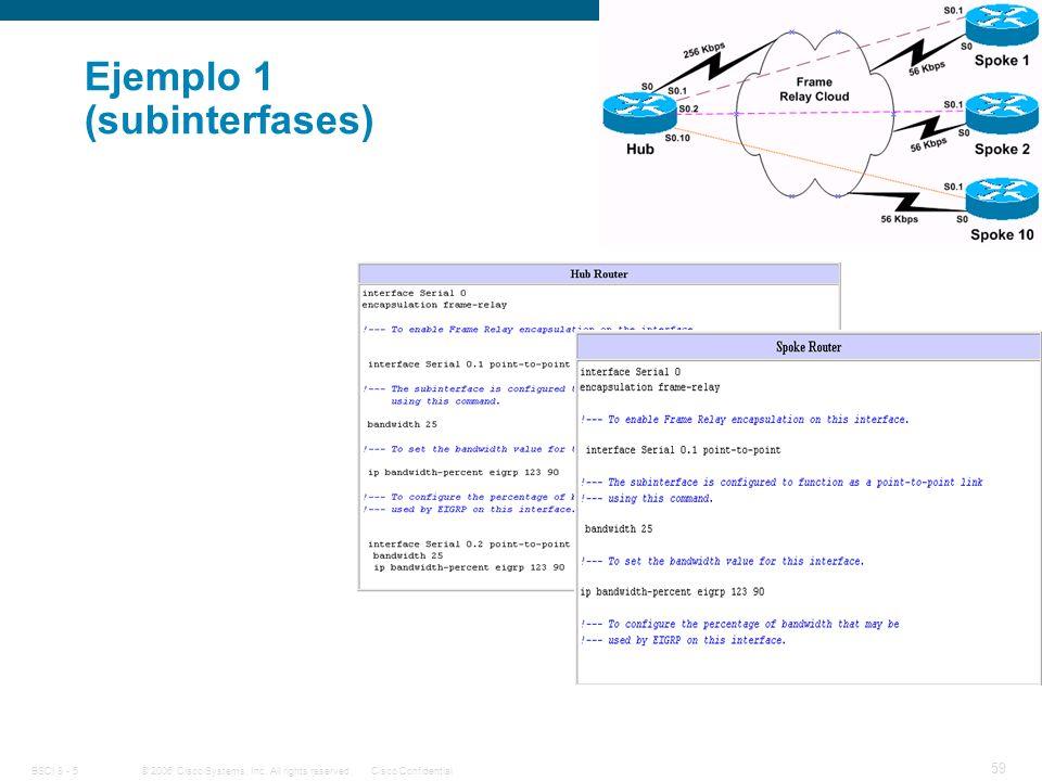 Ejemplo 1 (subinterfases)