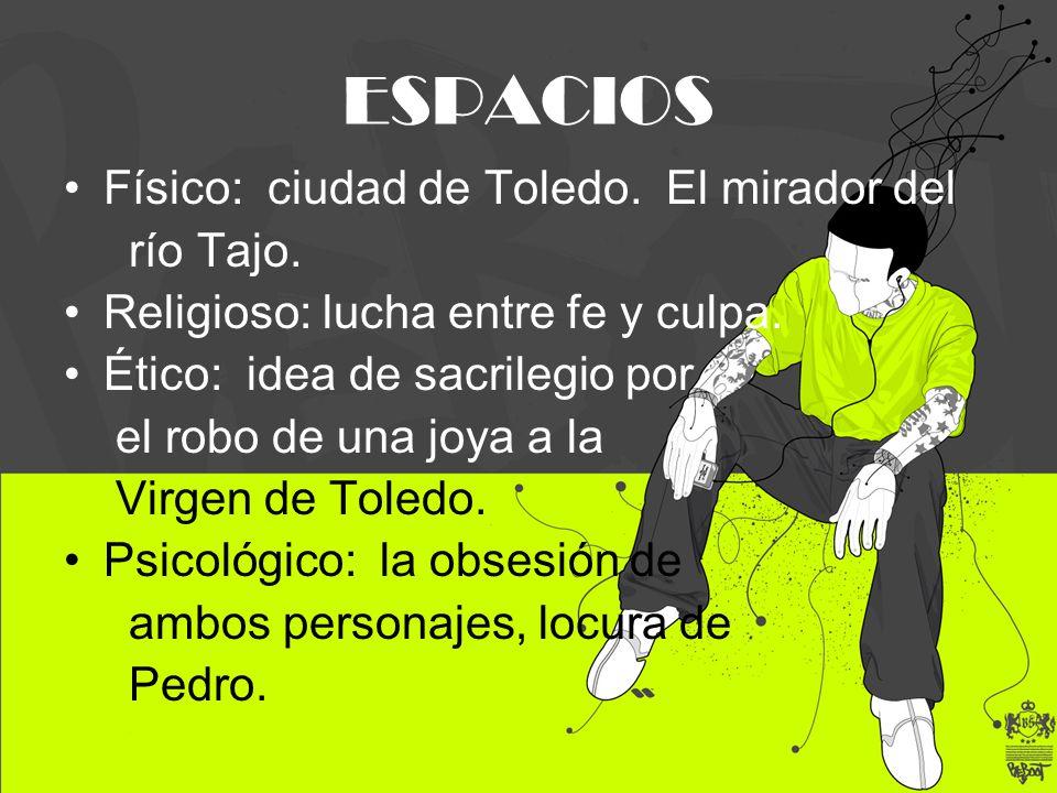 ESPACIOS Físico: ciudad de Toledo. El mirador del río Tajo.
