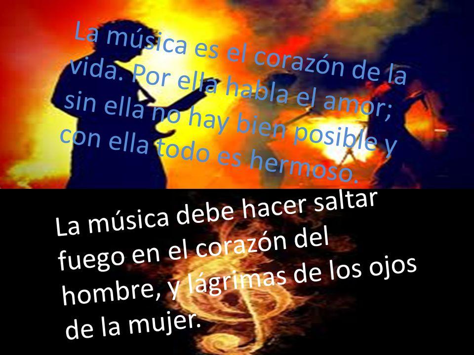 La música es el corazón de la vida