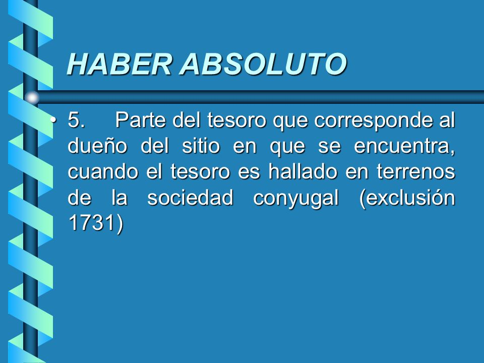 HABER ABSOLUTO