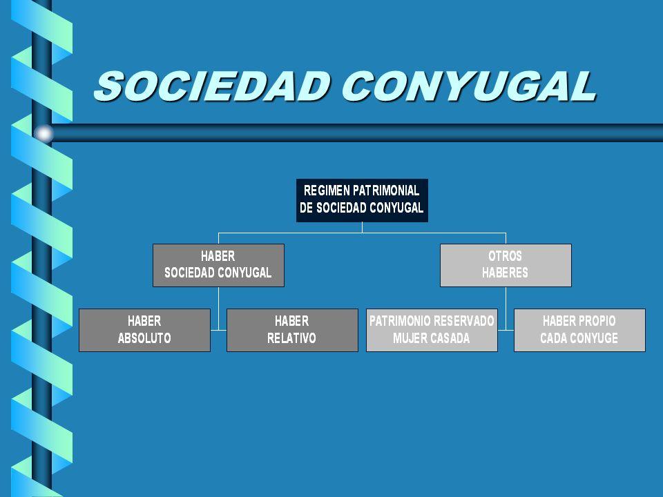 SOCIEDAD CONYUGAL