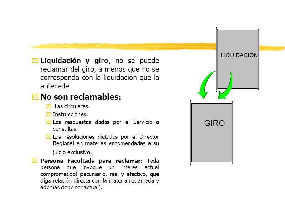 No son reclamables: GIRO