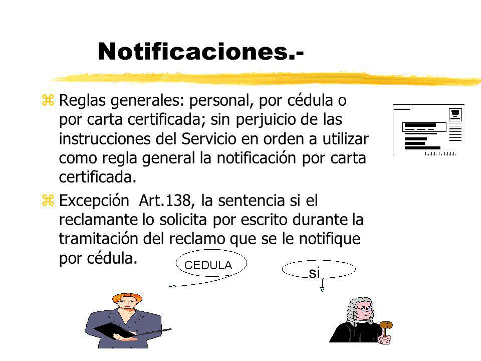 Notificaciones.-