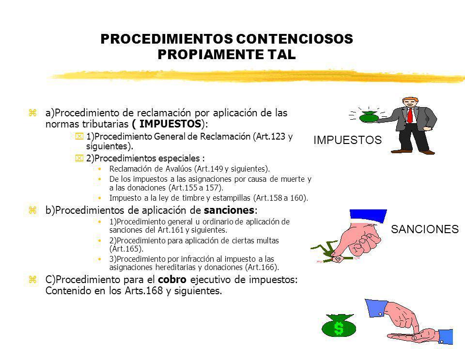 PROCEDIMIENTOS CONTENCIOSOS PROPIAMENTE TAL