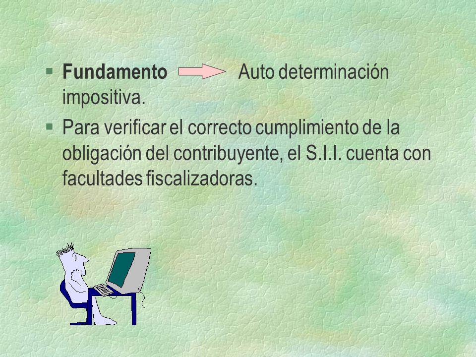 Fundamento Auto determinación impositiva.