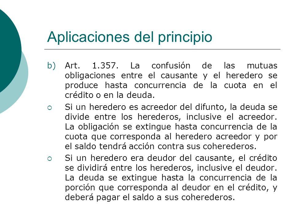 Aplicaciones del principio