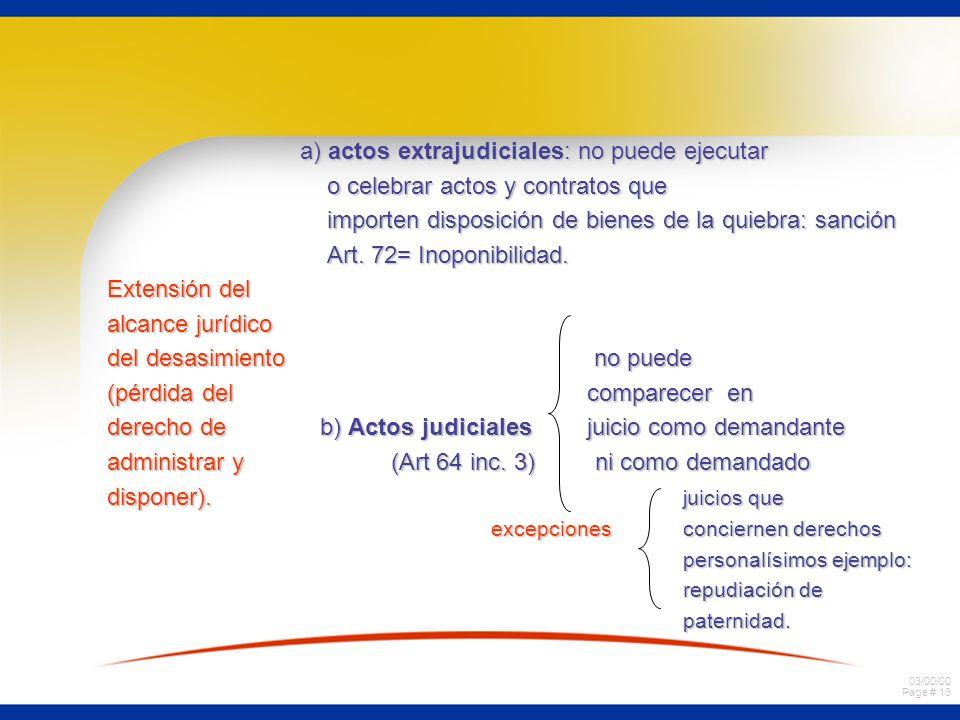 a) actos extrajudiciales: no puede ejecutar