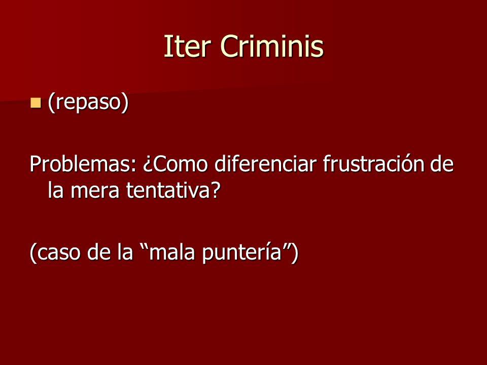 Iter Criminis (repaso)