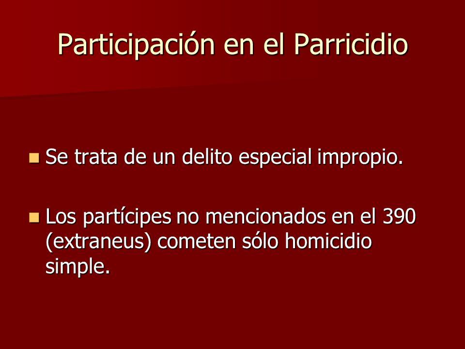Participación en el Parricidio