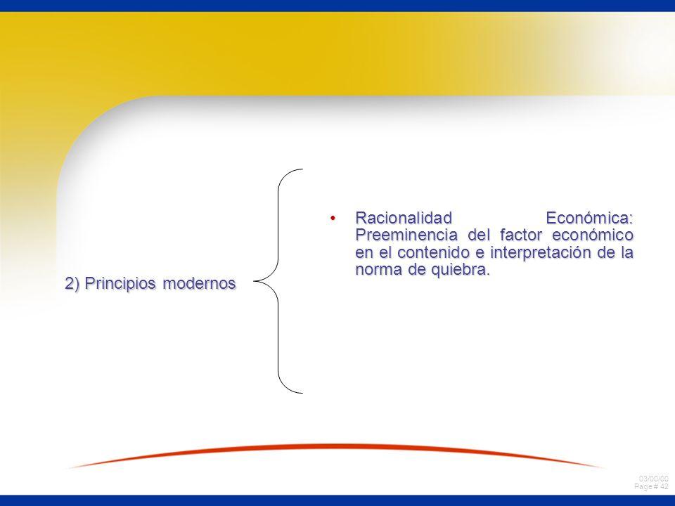 Racionalidad Económica: Preeminencia del factor económico en el contenido e interpretación de la norma de quiebra.