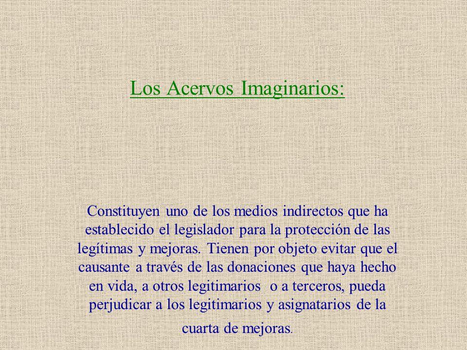 Los Acervos Imaginarios: