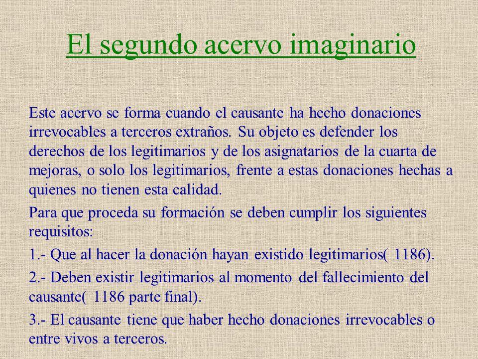El segundo acervo imaginario