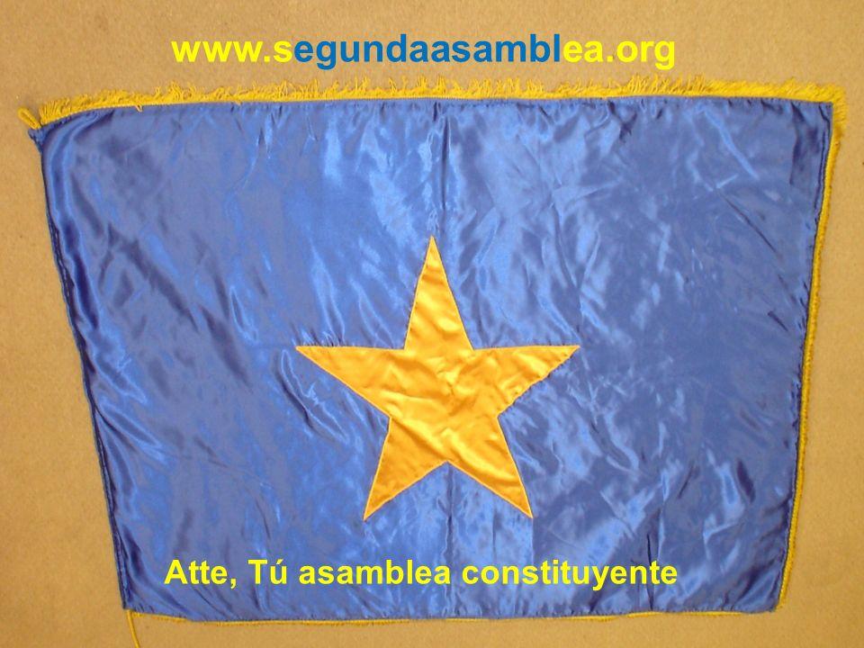 www.segundaasamblea.org Atte, Tú asamblea constituyente