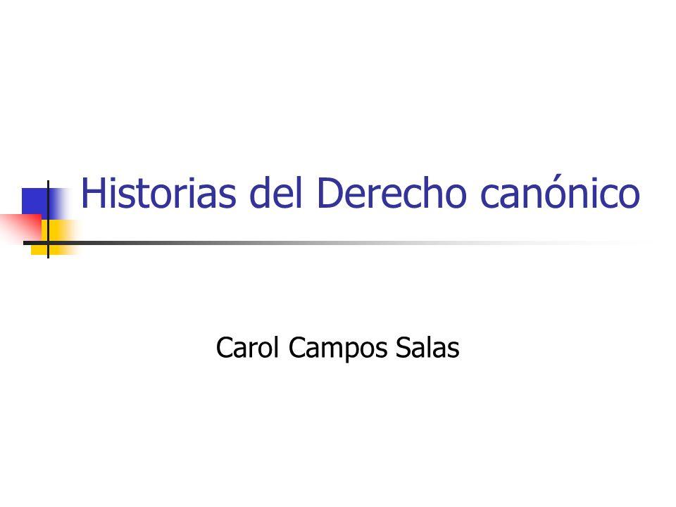 Historias del Derecho canónico
