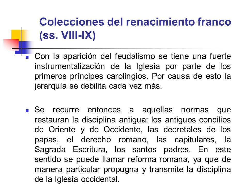 Colecciones del renacimiento franco (ss. VIII-IX)
