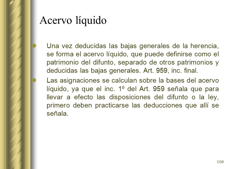 Acervo líquido