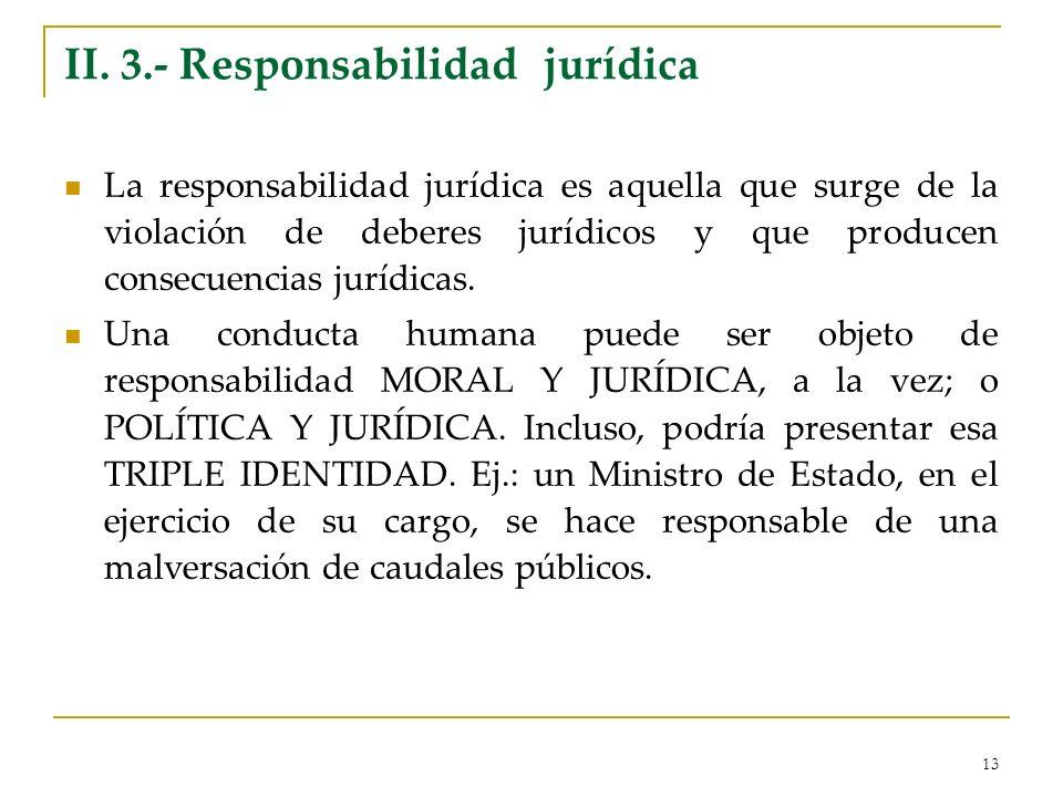 II. 3.- Responsabilidad jurídica