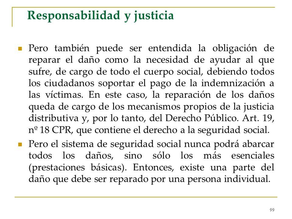 Responsabilidad y justicia