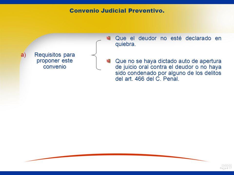 Convenio Judicial Preventivo.