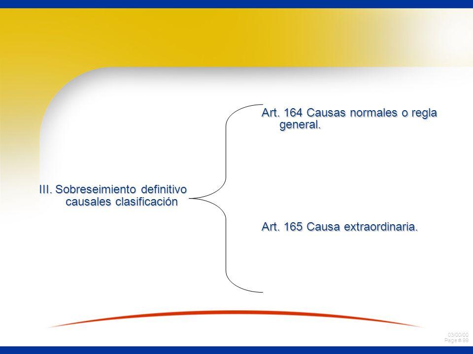III. Sobreseimiento definitivo causales clasificación
