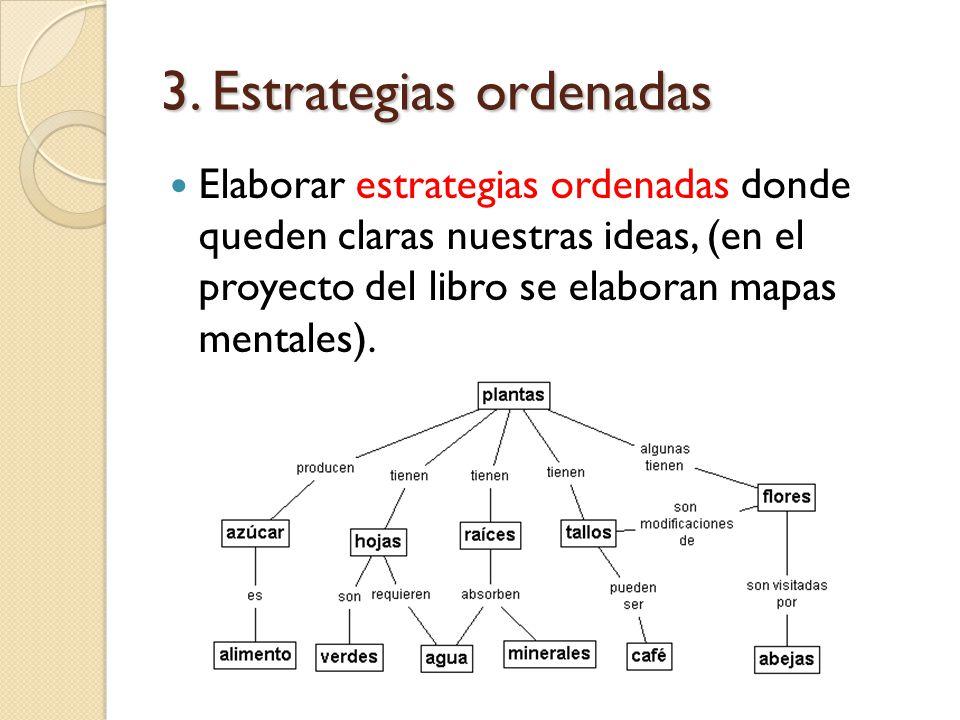 3. Estrategias ordenadas