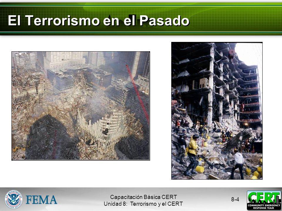 El Terrorismo en el Pasado