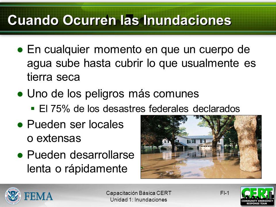 Cuando Ocurren las Inundaciones
