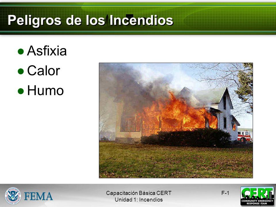 Peligros de los Incendios