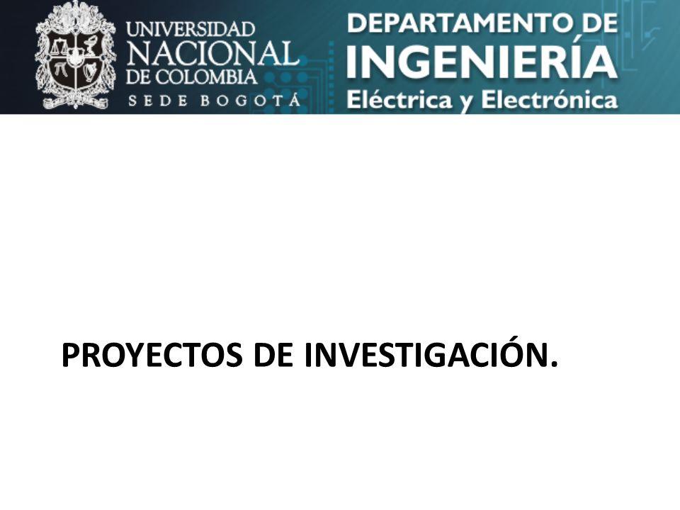 Proyectos de Investigación.