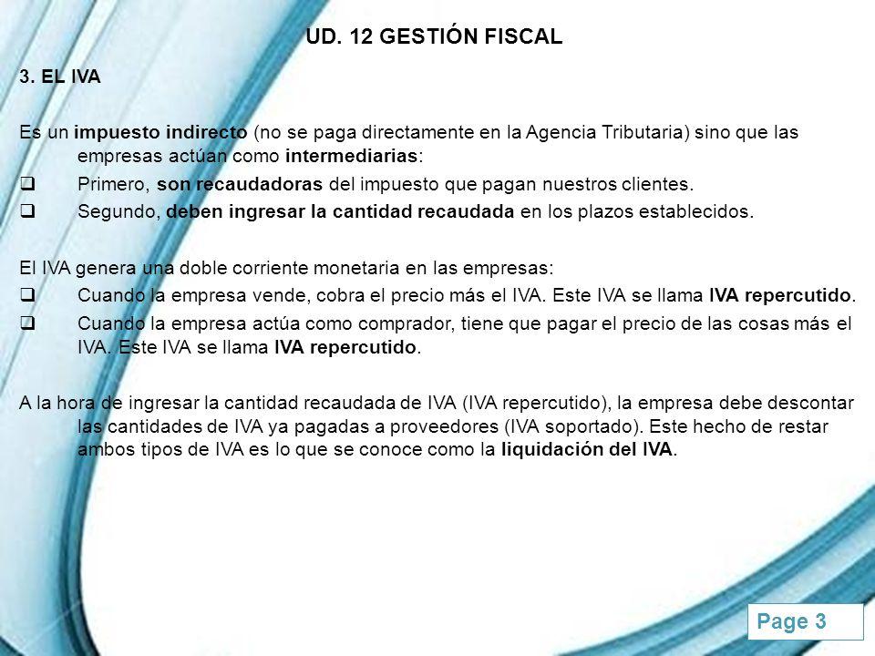 UD. 12 GESTIÓN FISCAL 3. EL IVA