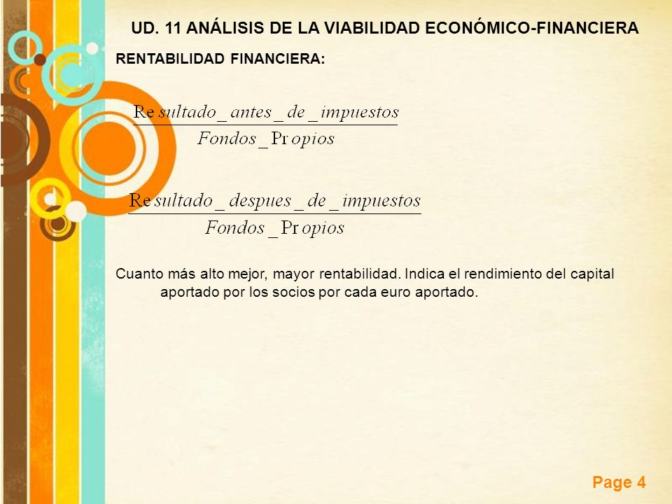 UD. 11 ANÁLISIS DE LA VIABILIDAD ECONÓMICO-FINANCIERA