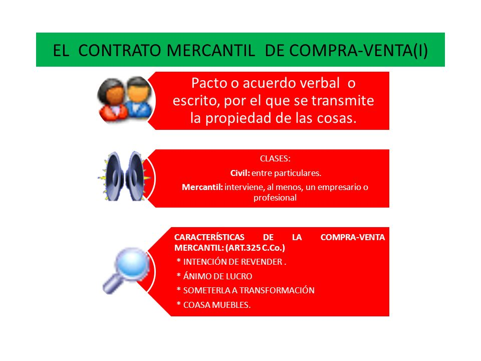EL CONTRATO MERCANTIL DE COMPRA-VENTA(I)