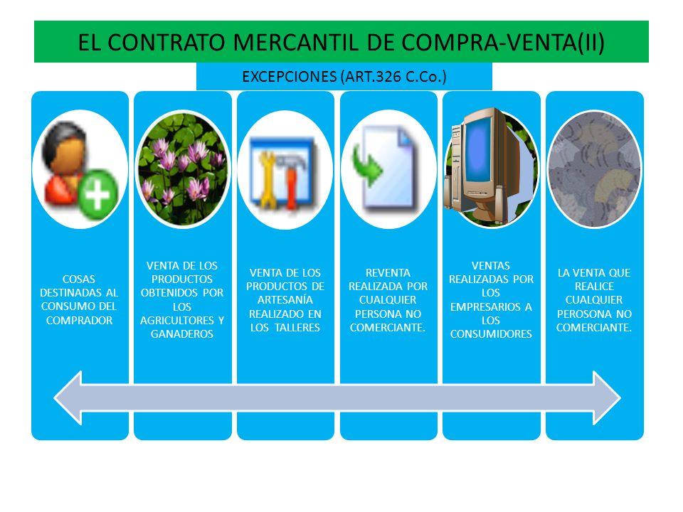 EL CONTRATO MERCANTIL DE COMPRA-VENTA(II)