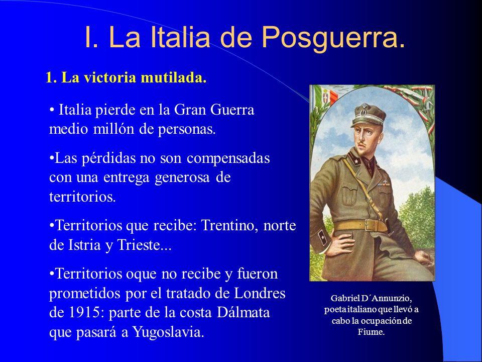 I. La Italia de Posguerra.