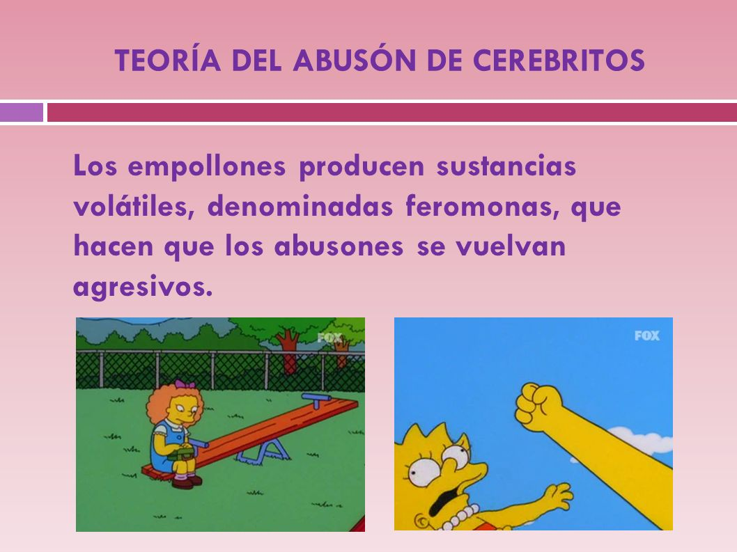 TEORÍA DEL ABUSÓN DE CEREBRITOS