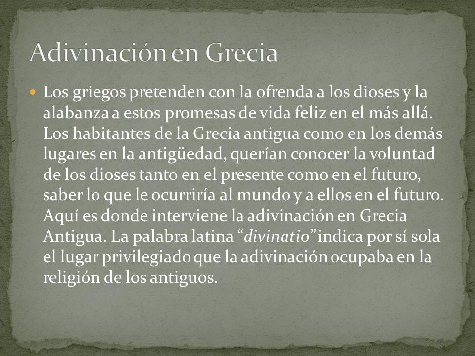 Adivinación en Grecia