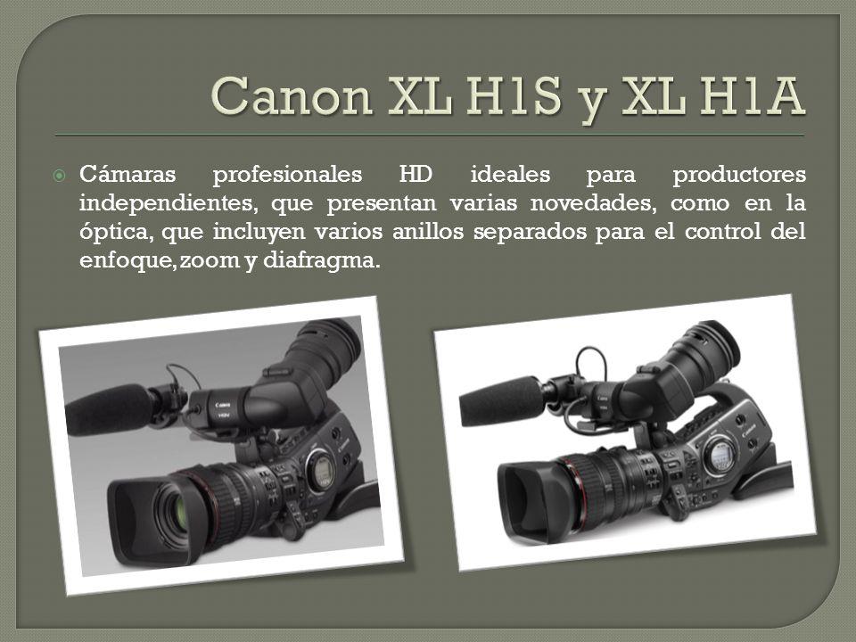 Canon XL H1S y XL H1A