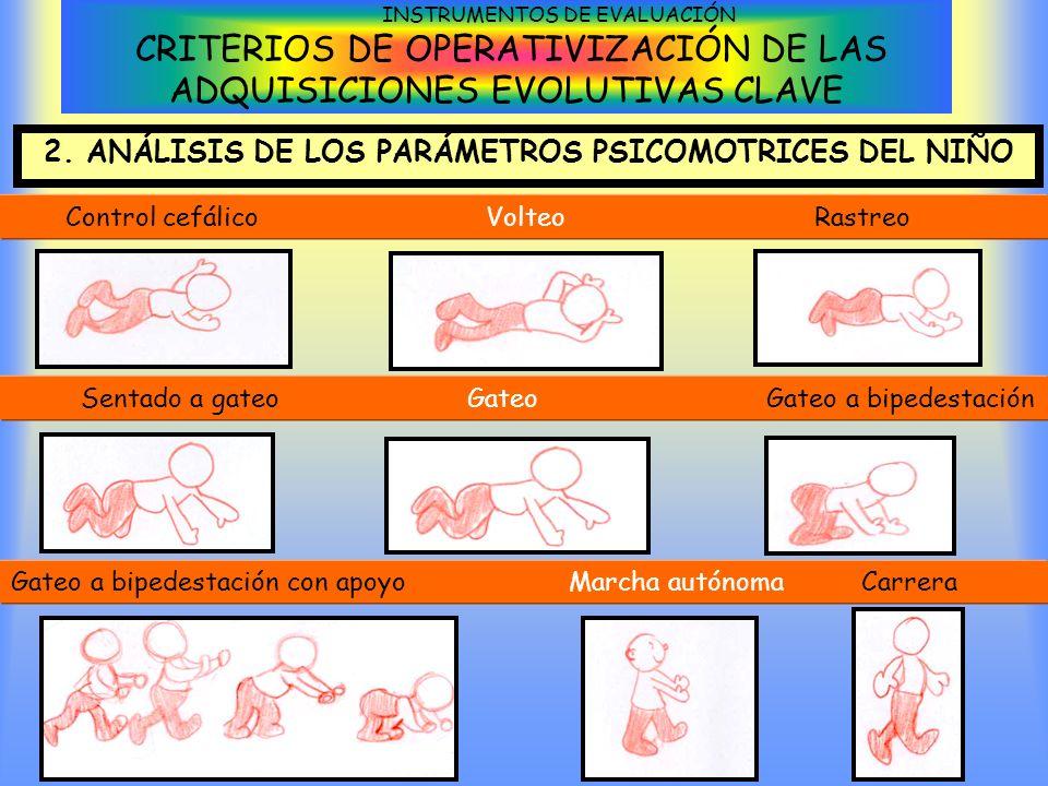 2. ANÁLISIS DE LOS PARÁMETROS PSICOMOTRICES DEL NIÑO