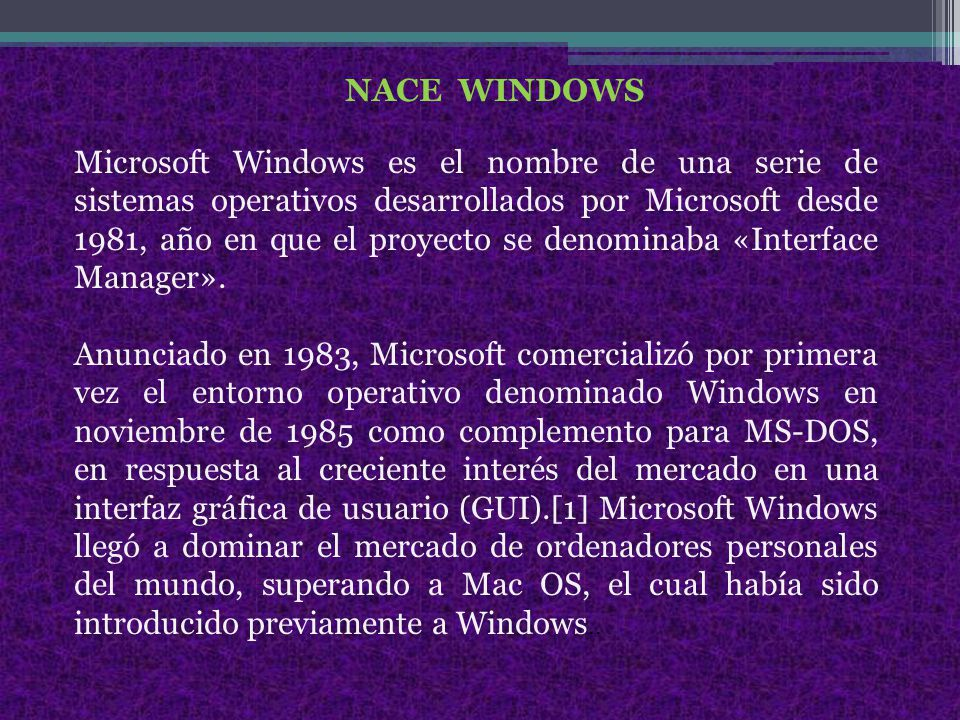 NACE WINDOWS