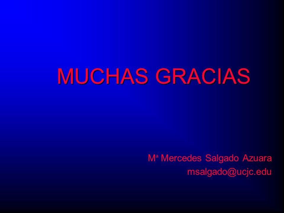 Mª Mercedes Salgado Azuara msalgado@ucjc.edu