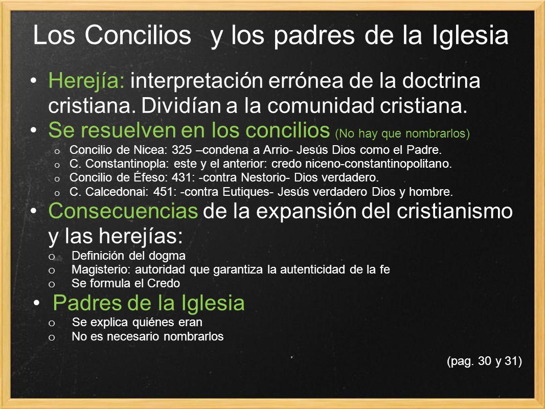 Los Concilios y los padres de la Iglesia