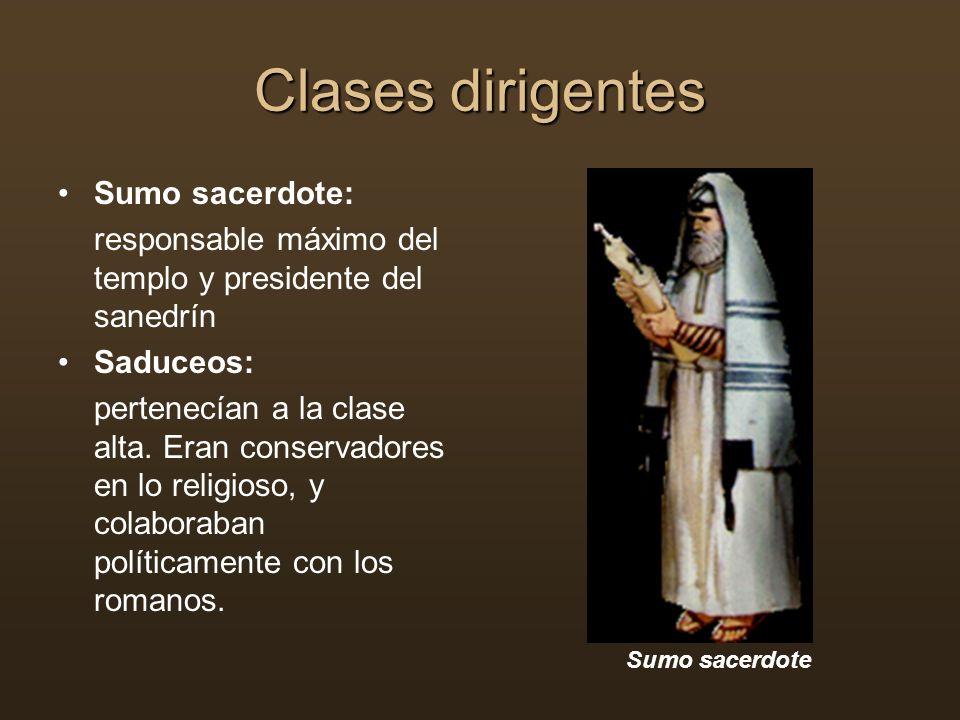 Clases dirigentes Sumo sacerdote: