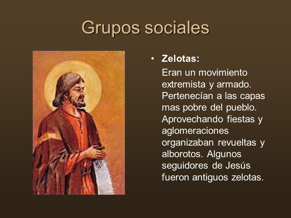 Grupos sociales Zelotas: